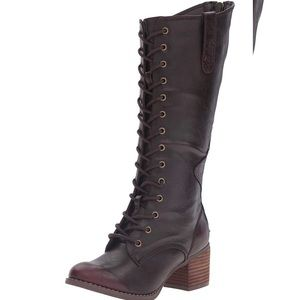 NOT RATED Low Heel Riding Boots